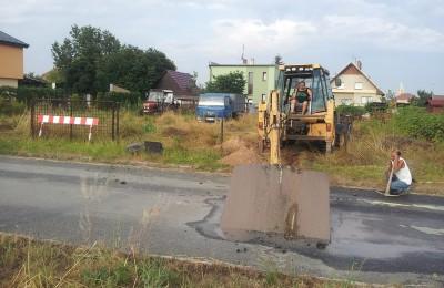 Přípojka kanalizace RD Stod