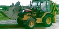 Traktor-bagr CAT 432 DII