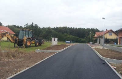 Kompletní silnice Stavidla Stod